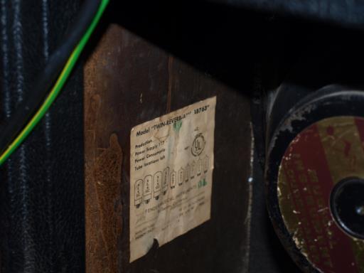 Vintage Fender Amp Parts 71